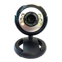 POWERTECH Web Camera PT-509 1.3MP, Plug & Play, μαύρη